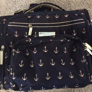 Jujube Anchor print diaper bag